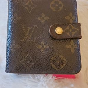 Bundle LV wallet and agenda monogram